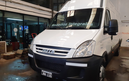 IVECO DAILY 55C16 - LARGO - 15.6 MTS3 - 2011